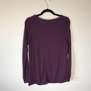 GAP Tops - Gap Long Sleeve Top Purple